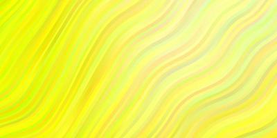 lichtgroene, gele vectortextuur met cirkelboog.