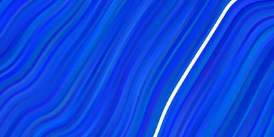 lichtblauwe vectortextuur met curven.