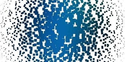 lichtblauwe, groene vectorlay-out met lijnen, rechthoeken.