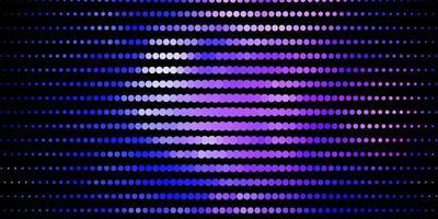 lichtroze, blauwe vectorlay-out met cirkels.