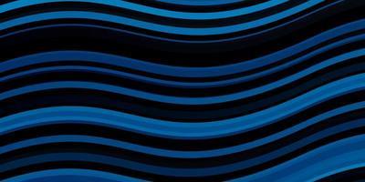 lichtblauwe vectortextuur met wrange lijnen. vector