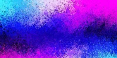 donkerroze, blauwe vectortextuur met schijven