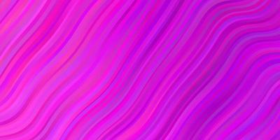 lichtroze vector achtergrond met wrange lijnen.