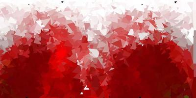 donkerbruine vector abstracte driehoeksachtergrond