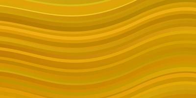 donker gele vectortextuur met bochten.