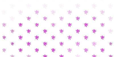 lichtroze vectortextuur met ziektesymbolen