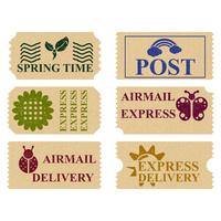 Lente Postzegels