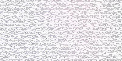 donkerblauwe, rode vectorachtergrond met gebogen lijnen.
