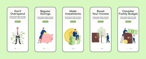 een rijk mobiel app-scherm worden