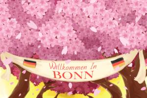 Lente Bonn Duitsland
