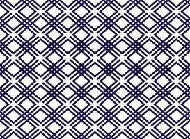 vector geometrische naadloze art decostijl ruit naadloze patroon achtergrond.