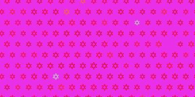 donkerrode vector achtergrond met covid-19 symbolen