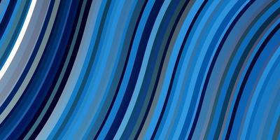 lichtblauw vectorpatroon met wrange lijnen.