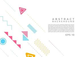 abstracte achtergrond moderne geometrische vorm desgin