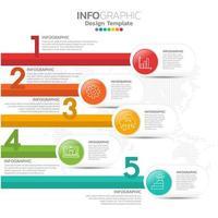 corporate organigram met pictogrammen uit het bedrijfsleven. vector