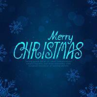 vrolijk kerstfeest tekstontwerp