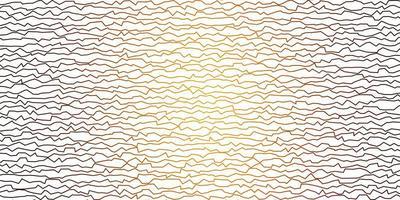 donkeroranje vectorpatroon met gebogen lijnen.