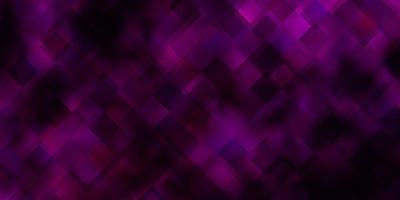 donkerroze vectorlay-out met lijnen, rechthoeken.