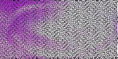 lichtpaars vector veelhoekig patroon.