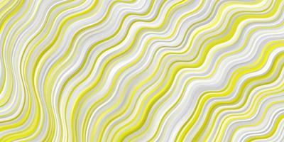 lichtgele vector sjabloon met wrange lijnen.