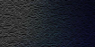 donkerblauwe vectorlay-out met wrange lijnen.