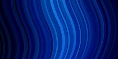 lichtblauwe vectorlay-out met wrange lijnen. vector