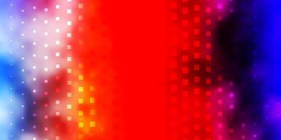 licht veelkleurige vector achtergrond met rechthoeken.