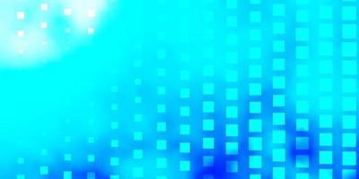 lichtblauw vectorpatroon in vierkante stijl. vector