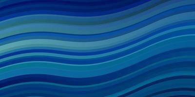 lichtblauwe vectorlay-out met wrange lijnen.
