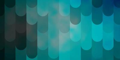 lichtblauw vectorpatroon met lijnen. vector
