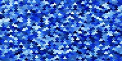 lichtblauwe vectorachtergrond met rechthoeken. vector