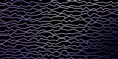 donkerroze, blauwe vectorachtergrond met lijnen.
