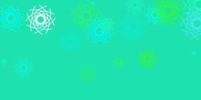 lichtgroene vector achtergrond met willekeurige vormen.