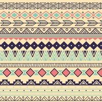 Azteeks stammenpatroon in strepen