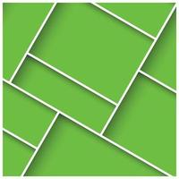 abstracte 3d vierkante achtergrond met kleurrijke tegels