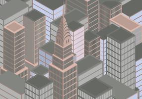 Isometrische New York City vector