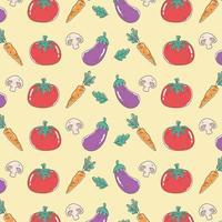 gezonde voeding voeding dieet biologische tomaat wortel aubergine achtergrond