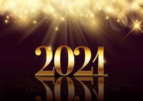 elegante gelukkig nieuwjaar achtergrond vector