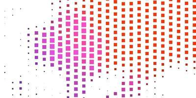 donkerroze, rode vectorachtergrond met rechthoeken.
