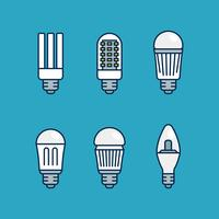 LED lichten vector