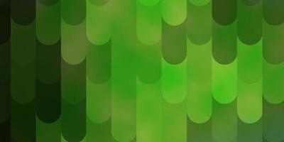 lichtgroen vectorpatroon met lijnen. vector