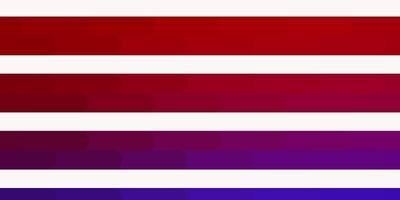 lichtblauwe, rode vectortextuur met lijnen.