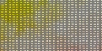 lichtoranje vector achtergrond in veelhoekige stijl.