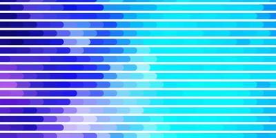 lichtroze, blauwe vectorachtergrond met lijnen. vector