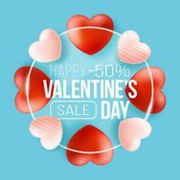promo webbanner voor Valentijnsdag verkoop