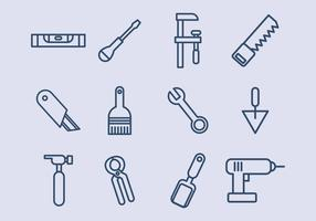 Bouw pictogrammen vector