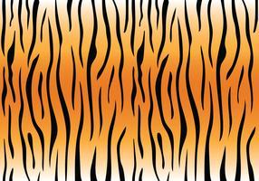 tijger streeppatroon vector