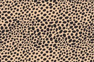 abstract stippen dierenprint ontwerp. luipaard print ontwerp. cheetah huid achtergrond.