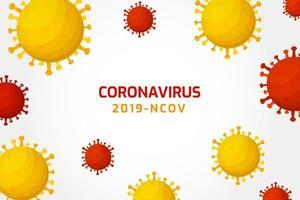 virusinfectie of bacteriecellen achtergrond.