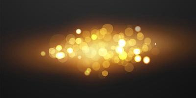 abstract onscherpte lichtelement dat kan worden gebruikt voor decoratieve bokeh achtergrond.